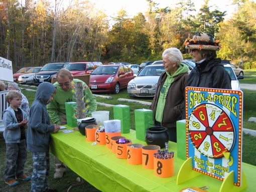 Spooktacular Hike - Game Table